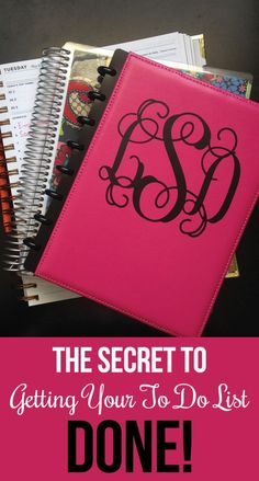 Here's the real secret for how to get your to do list DONE every day. (Great productivity and planning advice.)
