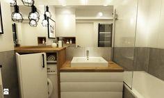 mieszkanie 35m2 pod wynajem - Łazienka, styl nowoczesny - zdjęcie od Grafika i Projekt architektura wnętrz