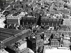 Down the decades: A look at how Victoria Station has changed over the years - Manchester Evening News Industrial Architecture, Over The Years, Wales, Manchester, Nostalgia, Louvre, Shops, England, Victoria