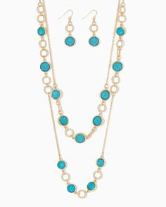 charming charlie | Rock Candy Necklace Set | UPC: 400000183343 #charmingcharlie