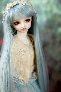 clouetvis Anime Dolls, Bjd Dolls, Doll Toys, Pretty Dolls, Cute Dolls, Beautiful Dolls, Weird Vintage, Cute Girl Drawing, Dream Doll