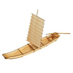 Wooden Model Ship Kits Junior Series- Scale models Korea Ship 1