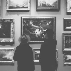 We explored the museum