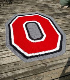 Fresh Ohio State Bar Mat