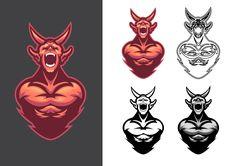 Demon - Mascot on Behance More