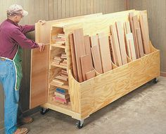 pictures+of+storage+ideas+for+mobil+homes | Plywood Storage Cart #1: Plywood/Lumber cart musings - or How I would ...