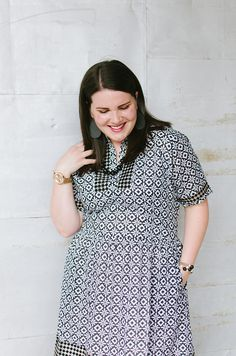 The Fair Trade Classic Fitted Dress by ethical fashion blogger Still Being Molly