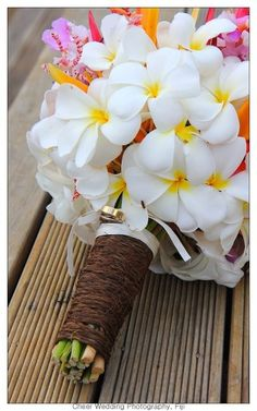 Fiji Wedding Flowers #FijiWedding