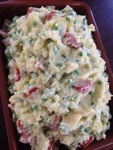Cookbook Recipes, International Recipes, Pasta Salad, Potato Salad, Sweets, Meat, Dinner, Ethnic Recipes, November