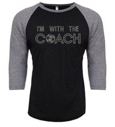 I'm with the Coach- Soccer Rhinestone transfer or shirt by GlitzEverAfter on Etsy https://www.etsy.com/listing/257526608/im-with-the-coach-soccer-rhinestone