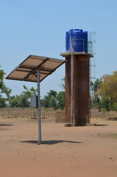 Solar Panels and Water Pumps used for the Nandumbo Health Centre #Malawi #HELPchildren #energy #HealthCentre