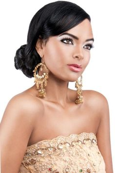 fashioning and style: Indian Bridal Make_Up