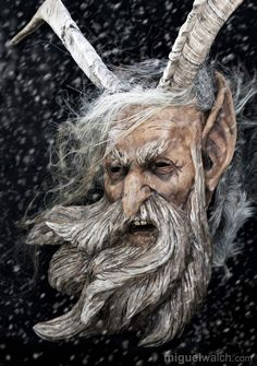Krampus is called the figures – they are worn in Germany and especially in  Austria - wooden masks of Miguel Walch – they are so awesome and soooo  great! 33d5c78e46