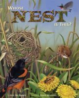 Cover image for Whose nest is this?