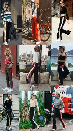 Sporty Outfits : Description Top fashion trends in early spring 2019 Jogger Pants Outfit, Jogging Outfit, Joggers, Fashion Pants, Fashion Outfits, Fashion Trends, Look Legging, Oufits Casual, Pants For Women
