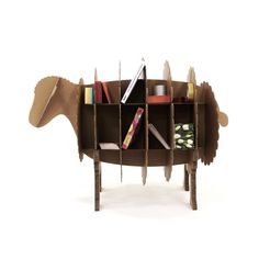adorable cardboard sheep shelf! comes in two smaller sizes (ew and lamb), too. also comes in white! $72