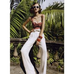Vogue Australia Editorial In Demand: Cry Me A Riviera, July 2009 Shot... ❤ liked on Polyvore featuring valerija erokhina, editorials and models
