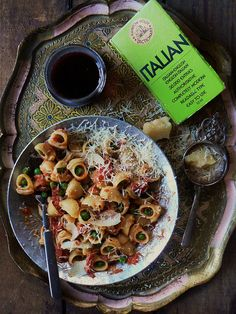 Pipe Rigate with Smoky Marinara Sauce by The Brooklyn Ragazza ( Cathi Iannone), via Flickr