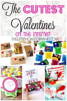 Valentine's Day: The Cutest Valentines on the Internet - This Little Home of Mine **Free Printables Included