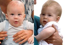 Archie and Prince Harry Pool/Samir Hussein/WireImage; Tim Graham Photo Library via Getty Images Archie and Prince Harry share a royal resemblance! Archie made h Prince Charles And Diana, Prince Harry And Megan, Harry And Meghan, Old Prince, Young Prince, Estilo Meghan Markle, Sussex, Piers Morgan, Prince Harry Photos