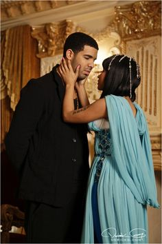 Drake and Nicki Minaj
