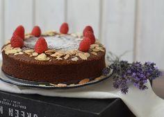 Čokoládový dort Caprese