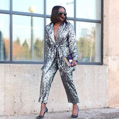 "1,092 Likes, 107 Comments - Ranti Onayemi-Blanchard (@rantiinreview) on Instagram: ""Holiday// Shiny Suit Girl🙊💫💫💫