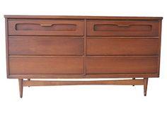 Mid-Century Modern Double Dresser on OneKingsLane.com