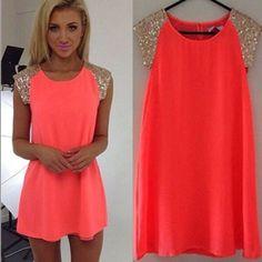 100% New Cute Summer Dress