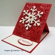 "stampin up christmas card ""snow flurry"" - Google Search"