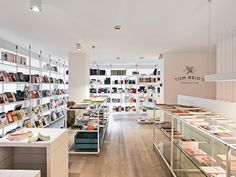 Tom Reid's Bookstore on Behance