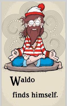 Zen Humor - Meditation - Where's Waldo?