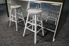 Bison stools by Community