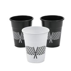 Disposable Plastic Cups With Checkered Flag Design. Serve drinks at the big race! Tip these disposable plastic cups at the track or on your patio! These cups serve up a winning time. per unit) 4 16 oz. Dirt Bike Party, Dirt Bike Birthday, Hot Wheels Birthday, Race Car Birthday, Cars Birthday Parties, 3rd Birthday, Birthday Ideas, Motorcycle Party, Monster Truck Party Supplies