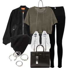 Untitled #11796 by vany-alvarado on Polyvore featuring H&M, Alexander Wang, Boohoo, adidas, Yves Saint Laurent, Forever 21 and BP.