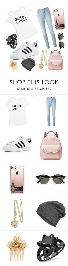 """wooh"" by christabetsie ❤ liked on Polyvore featuring Tommy Hilfiger, adidas, Casetify, Ray-Ban, The North Face and Miriam Haskell"