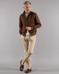 Cotton blouson by Aspesi for men   Dantendorfer online shop