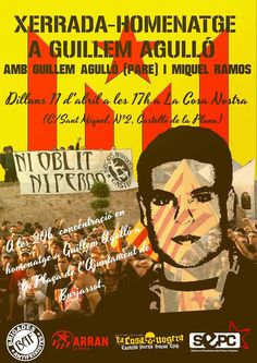 "★  @PauAlabajos ""Nit i boira""  ★ #guillemagulló ""in memoriam"" NI OBLIT, NI PERDÓ! Arran, Blog, Hipster Stuff"
