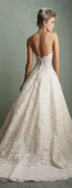Lace wedding dress. Forget about the bridegroom, for the moment lets concentrate on the bride-to-be whom views the wedding as the best day of her lifetime. With this basic fact, then it's definite that the bridal dress must be the best.