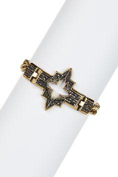 Pave Cross Bracelet by Lucky Brand on @HauteLook