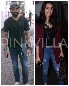 Spotted: Shraddha and Farhan on the sets of Rock On 2!