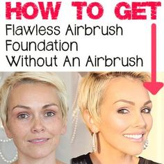 kandeej.com: How To Get Airbrush Perfect Skin Without An Airbrush.  She has a great video with tutorial!