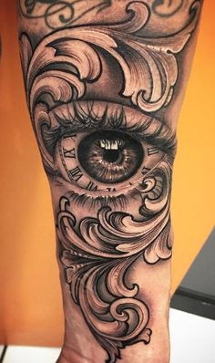 Eye tattoo arm hot guys 29 ideas for 2019 Forarm Tattoos, Dope Tattoos, Badass Tattoos, Arm Tattoos For Guys, Skull Tattoos, Trendy Tattoos, Leg Tattoos, Body Art Tattoos, Sleeve Tattoos