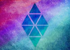 Geometric Shape BG (Colors, Background, Shapes) by Khaotehk