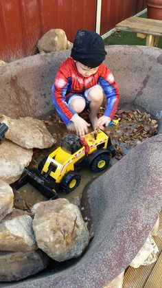 """Utilising an old pond - from Kids United Early Learning Centre ("""",)"""
