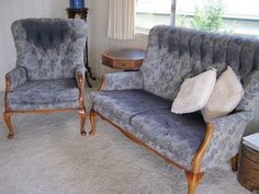 2 Seater Couch + Chair