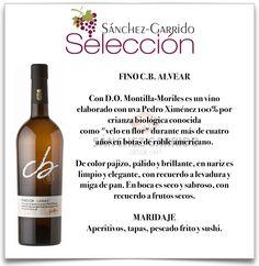 Fino C.B. Alvear en Sánchez-Garrido Antequera