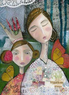 ART IN MOTION :: Loved + Grateful - Kelly Rae Roberts