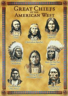 Great Chiefs of the American West