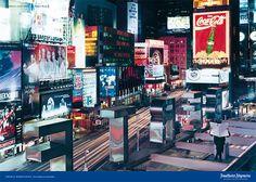 Der Visionär Thomas Middelhoff hinter der F.A.Z. und hoch über dem Times Square, dem pulsierenden Nabel der Medien- und Unterhaltungswelt. © Frankfurter Allgemeine Zeitung (FAZ) http://www.faz.net